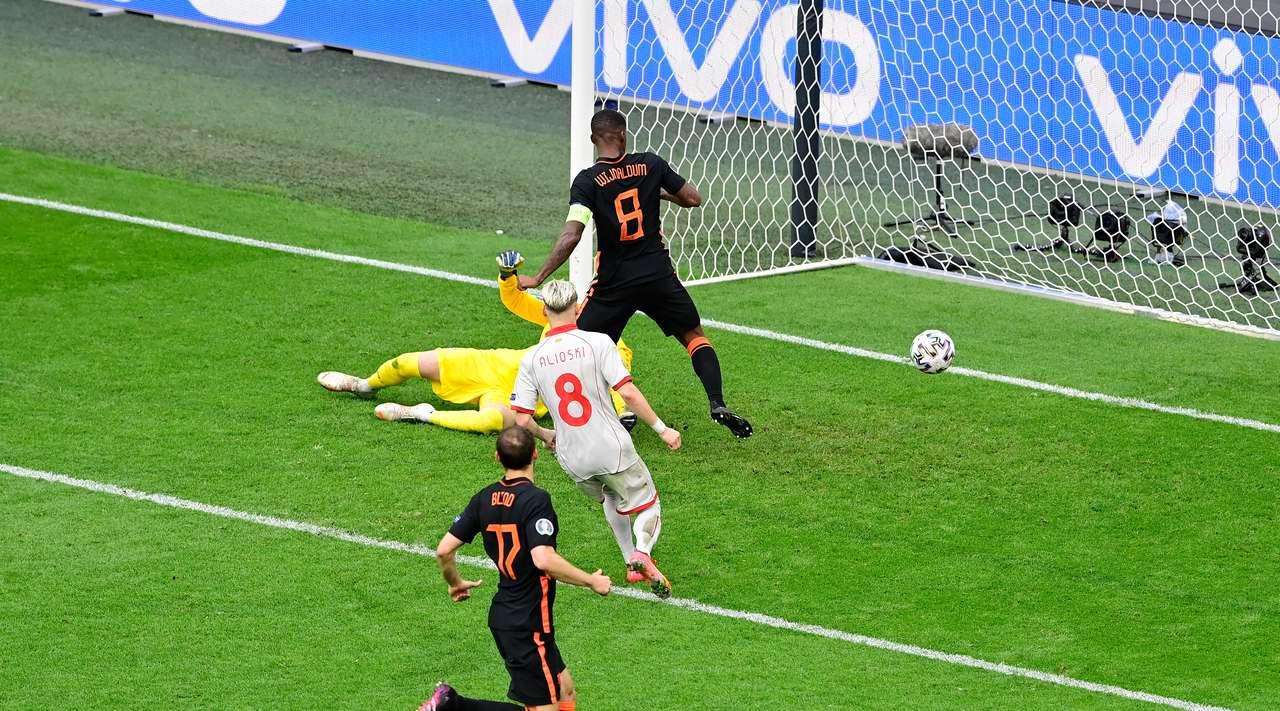 Сборная Нидерландов выиграла все матчи в группе С на Евро-2020