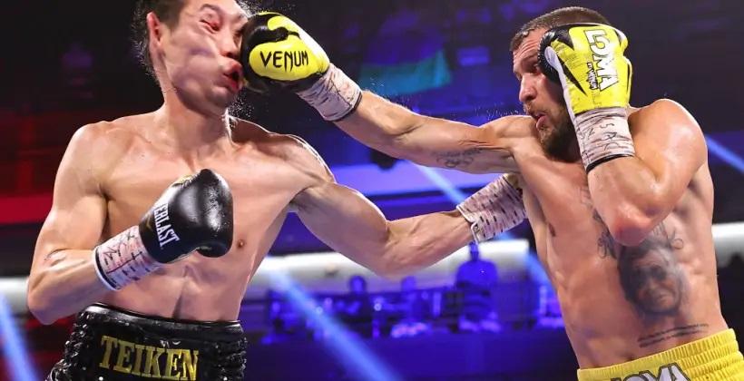 Украинский боксер Василий Ломаченко отправил японца Накатани в нокаут