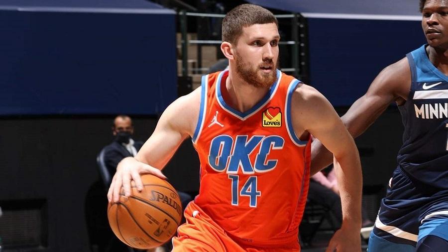 2020/2021 – лучший игровой сезон в карьере баскетболиста Святослава Михайлюка из «Оклахомы»