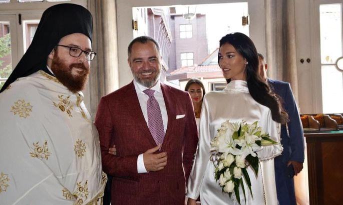 Андрей Павелко обвенчался со своей избранницей в стамбульской церкви
