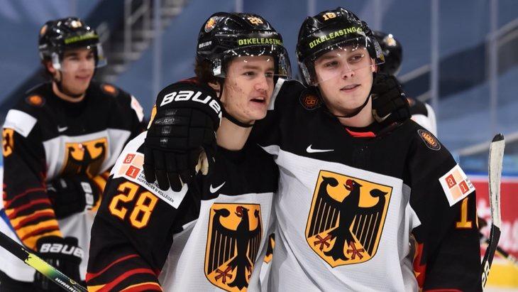 Сборная Германии покидает ЮЧМ-2021 по хоккею