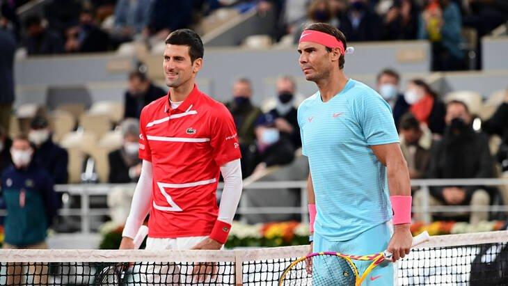 Новак Джокович и Рафаэль Надаль сыграют сегодня в финале теннисного турнира АТР в Риме