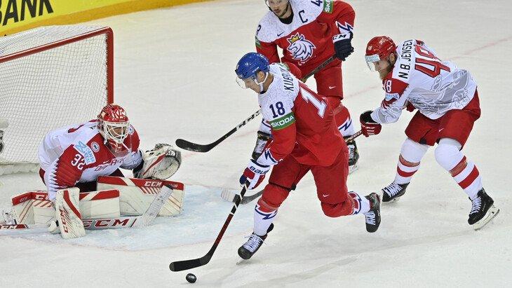 Сборная Чехии обыграла сборную Дании и гарантировала себе выход в плей-офф Чемпионата мира по хоккею