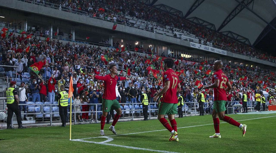 Португалия «раздавила» сборную Люксембурга в матче квалификации на ЧМ-2022