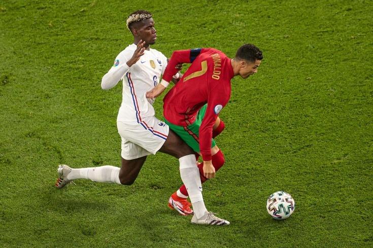 Национальные команды Португалии и Франции обменялись мячами и прошли в плей-офф турнира