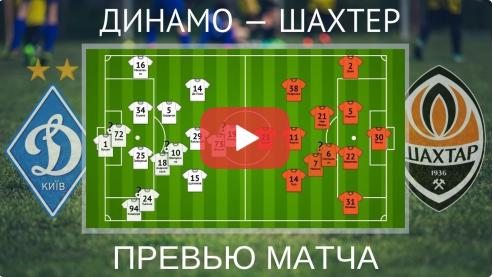 Шахтер — Динамо. Анонс матча за Суперкубок Украины-2021