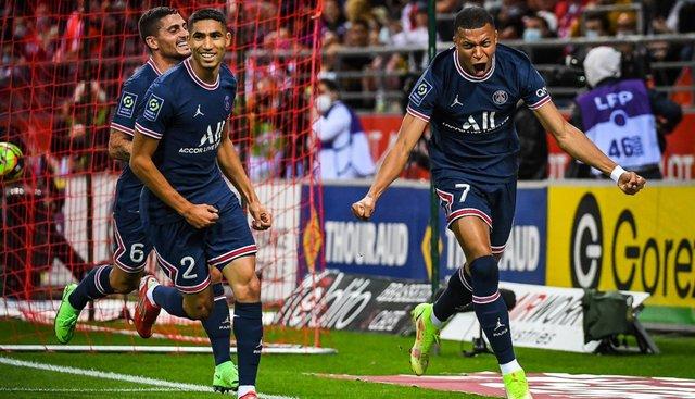 Победа «ПСЖ» в матче против «Реймса» и первый выход Месси на футбольное поле во французской Лиге 1