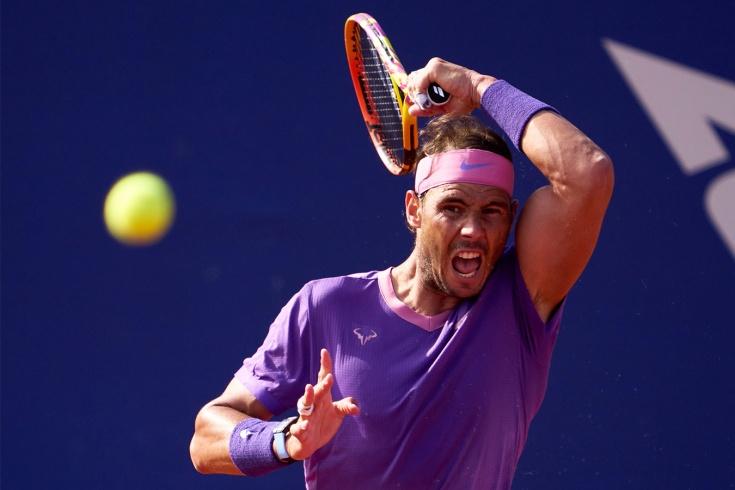 Рафаэль Надаль выиграл у Карлоса Алькараса в 1/32 на турнире Madrid Open