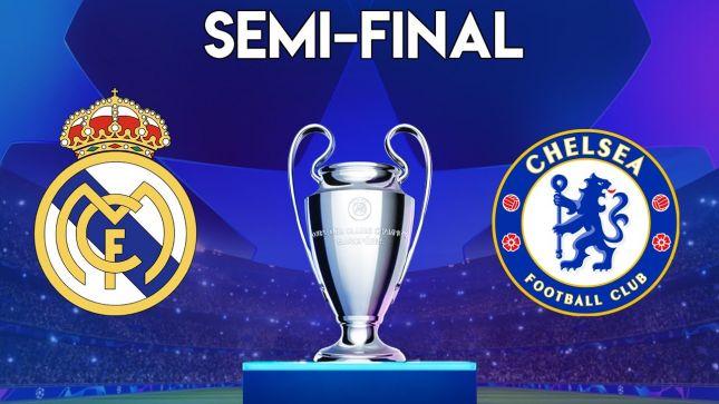 Прогноз на матч ½ финала Лиги Чемпионов УЕФА Реал Мадрид - Челси 27.04.2021