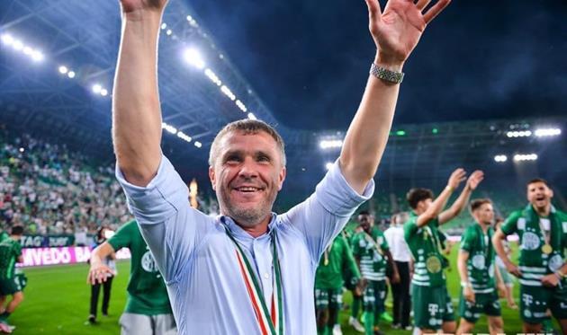 Сергей Ребров вместе с венгерским «Ференцварошом» - чемпионы и рекордсмены