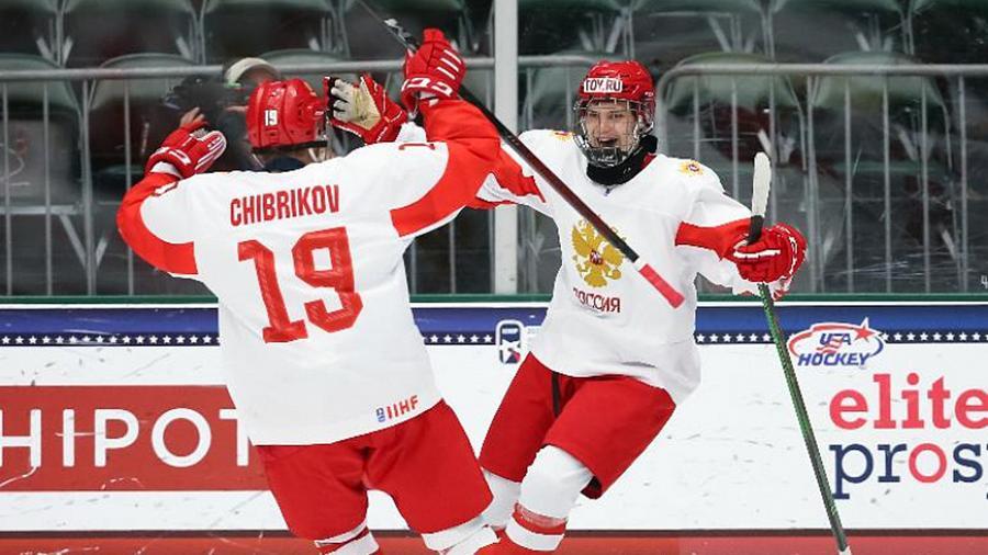 Юниоры сборной России по хоккею «выгрызли» выход в финал ЮЧМ-2021