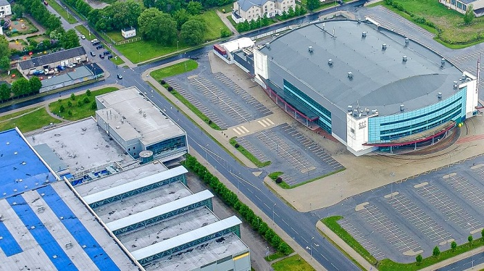 Ледовую арену в Риге успели сдать до начала ЧМ 2021 по хоккею