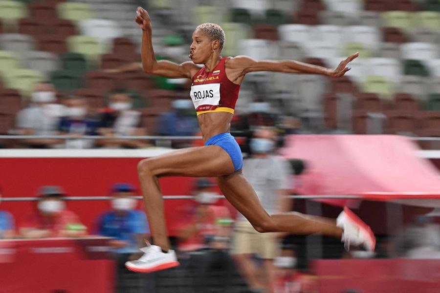 Рекорд украинки 1995 года в тройном прыжке улучшила на Олимпиаде-2020 представительница Венесуэлы