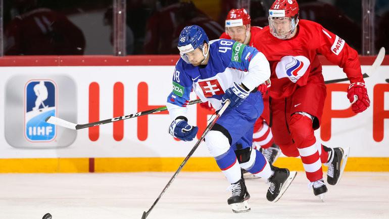 Сборная Словакии впервые за 17 лет обыграла сборную России на ЧМ-2021 по хоккею