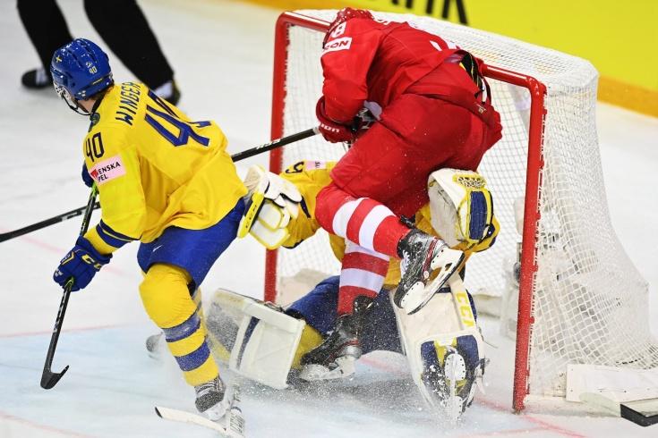 Сборная Швеции впервые в истории не выходит из группы в плей-офф Чемпионата мира по хоккею