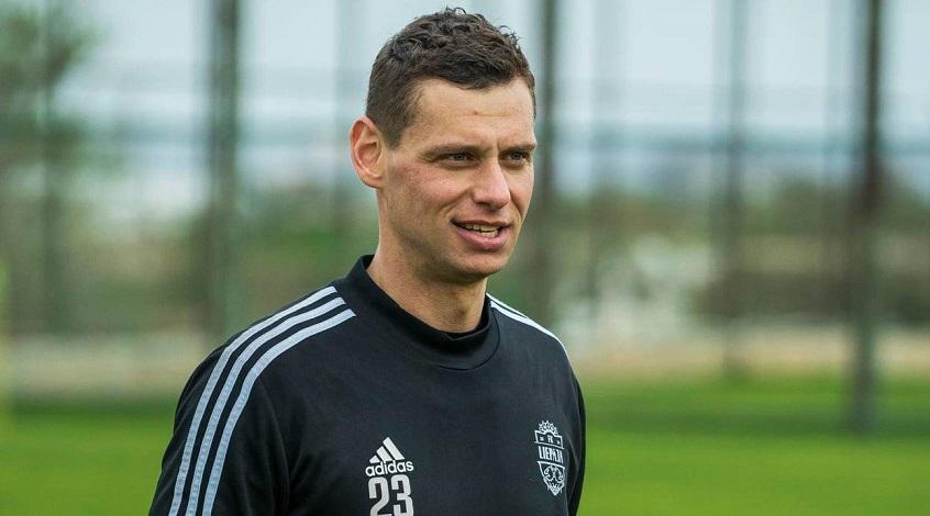 Бывший вратарь Динамо Киев Александр Рыбка остался без работы в ФК Лиепая