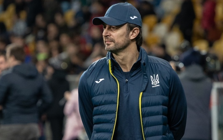 Александр Шовковский вновь стоял в воротах футбольной сборной Украины