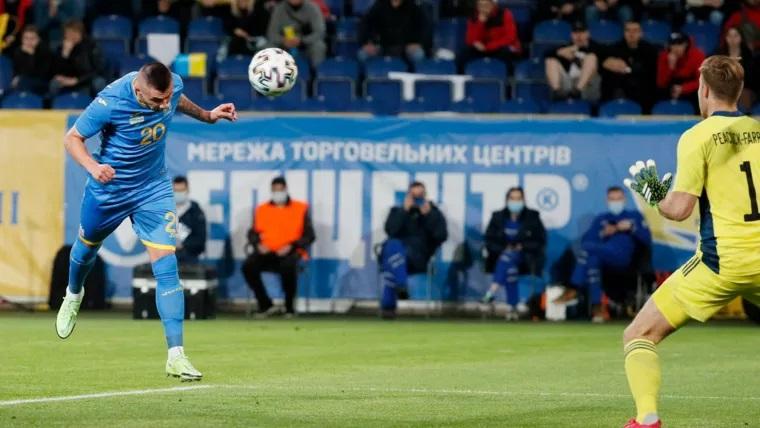 Сборная Украины обыграла сборную Северной Ирландии в товарищеском матче