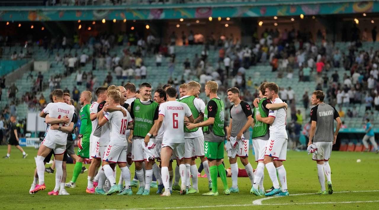 Сборная  Дании  установила уникальный рекорд на Евро-2020
