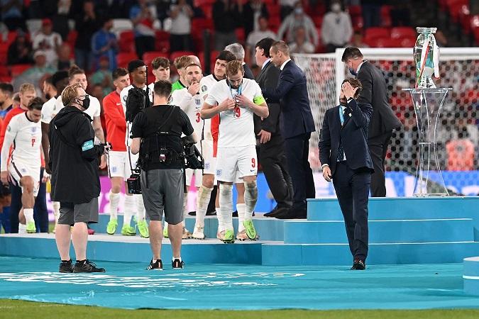 В Лондоне открыли мурал на честь сборной Англии по футболу