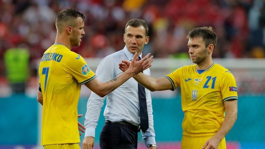 Итоги выступления сборной Украины на Евро-2020