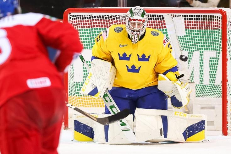 Сборная Чехии в упорной борьбе одолела команду Швеции на ЧМ-2021 по хоккею