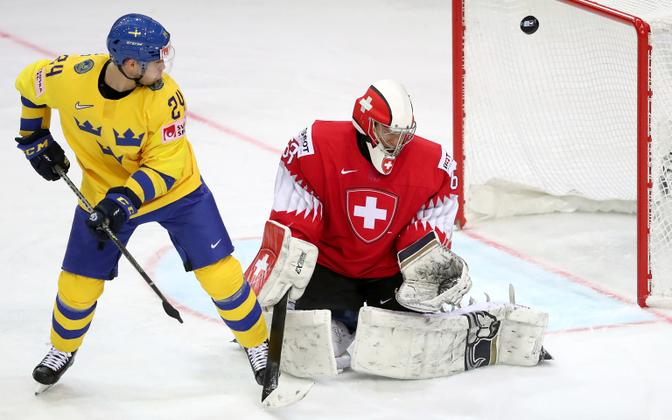 Швеция разгромно обыграла Швейцарию и зарабатывает дебютную победу на ЧМ-2021 по хоккею