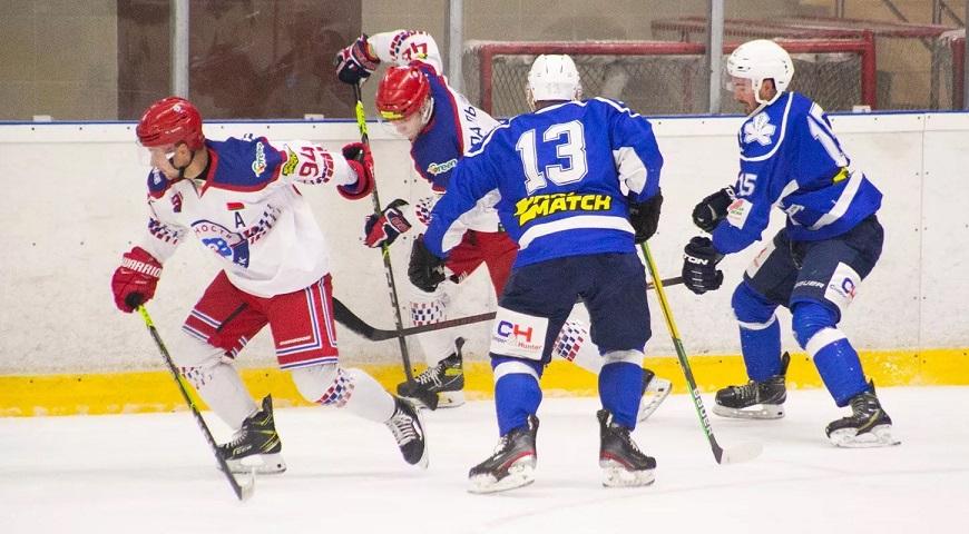 Киевский «Сокол» выиграл у минской «Юности» в рамках хоккейного турнира в Новополоцке