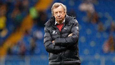 Экс-тренер киевского «Динамо» Юрий Сёмин остался без работы