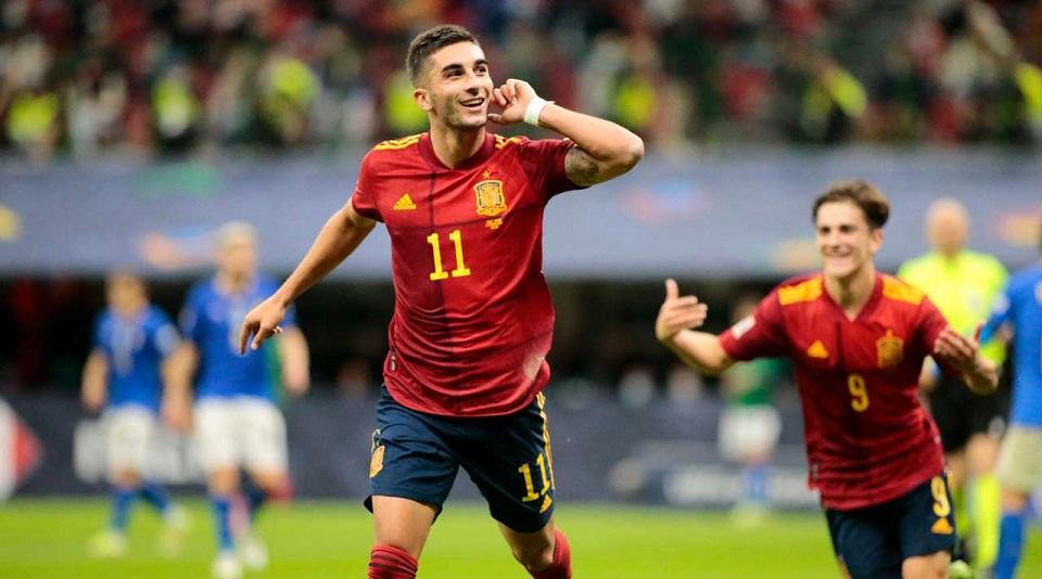 Испания, обыграв сборную Италии, вышла в финал Лиги наций