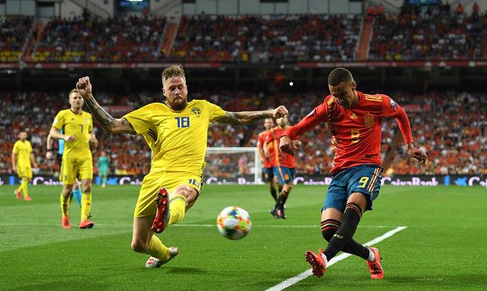 Анонс матча на ЕВРО-2020 между сборными Испании и Швеции