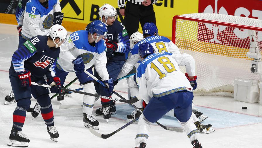Сборная США всухую переиграла сборную Казахстана на ЧМ-2021 по хоккею