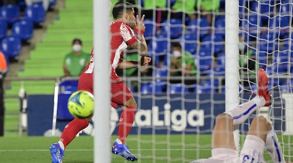 «Хетафе» забил мадридскому «Атлетико» впервые за 10 лет, но проиграл по итогам матча шестого тура Ла Лиги