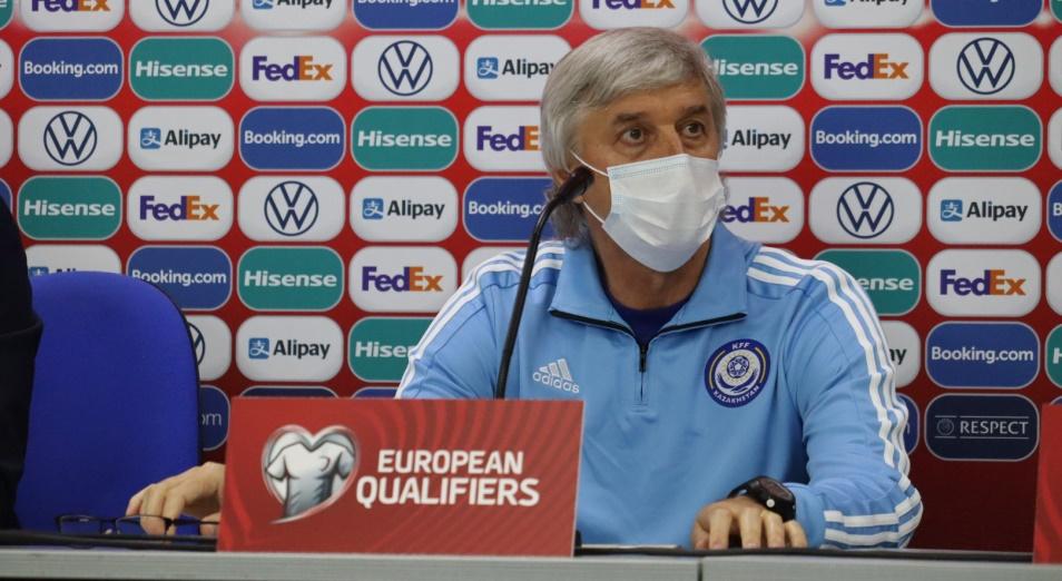 Помощник главного тренера сборной Казахстана Игорь Свечников рассказал о своих ожиданиях от матча с Украиной