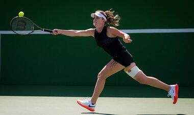 Элина Свитолина обыграла Терезу Мартинцову и вышла в 1/16 турнира WTA 1000 в Индиан-Уэллсе