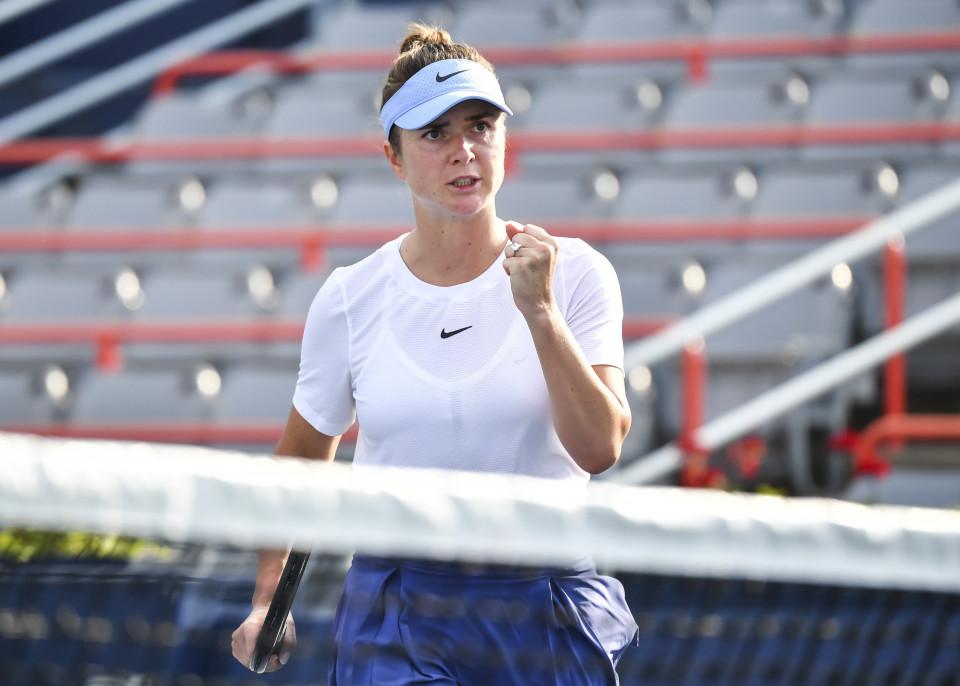 Элина Свитолина пробилась в 1/4 финала теннисного турнира WTA в Чикаго