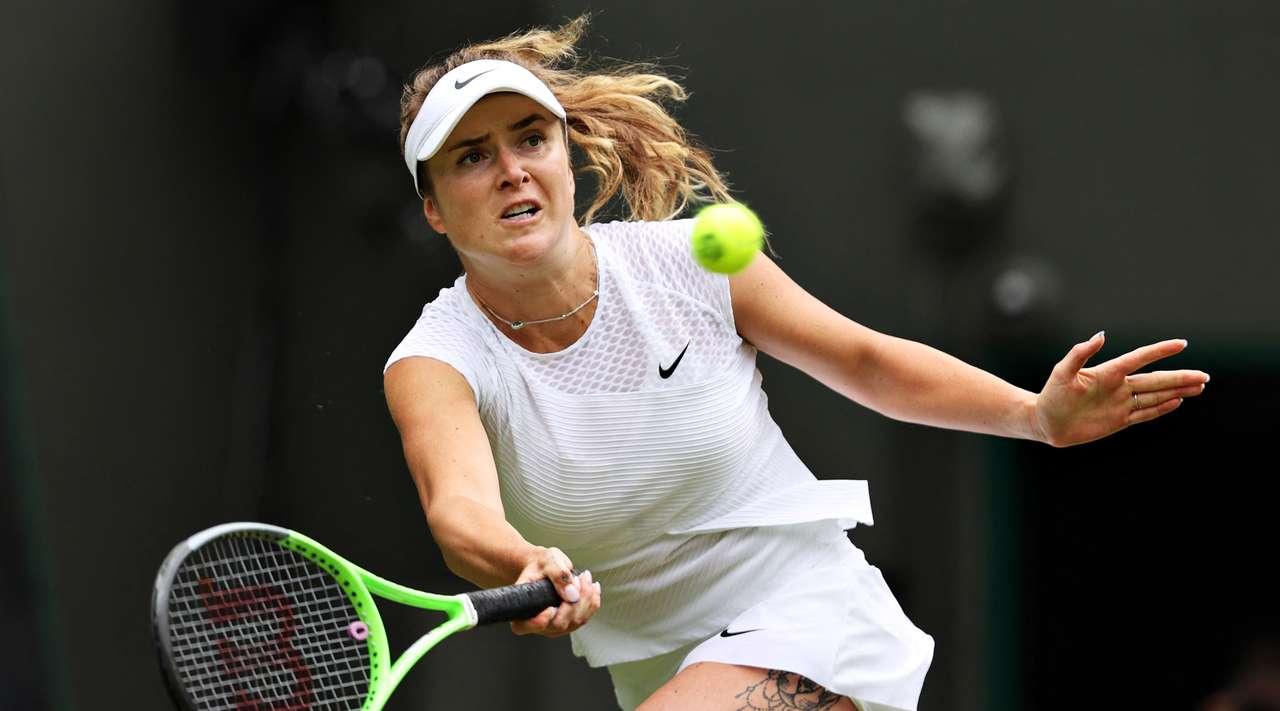Украинка Элина Свитолина прошла во второй круг теннисного турнира «Wimbledon»