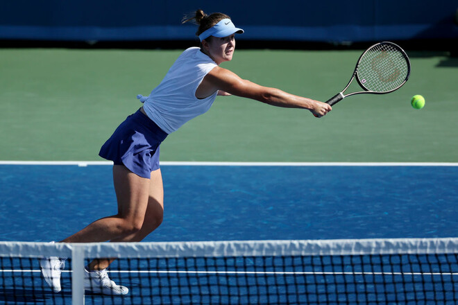 Элина Свитолина уступила в 1/4 финала теннисного турнира WTA в Чикаго