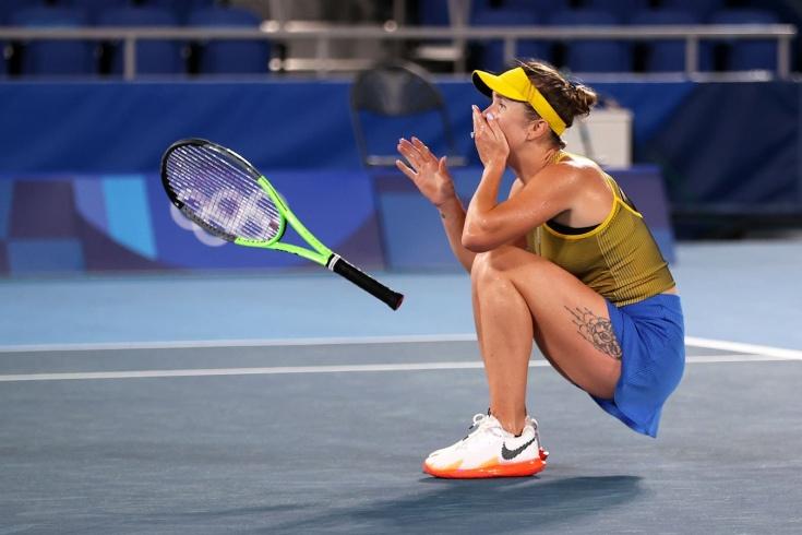 Элина Свитолина завоевала первую в истории олимпийскую награду для Украины в теннисе