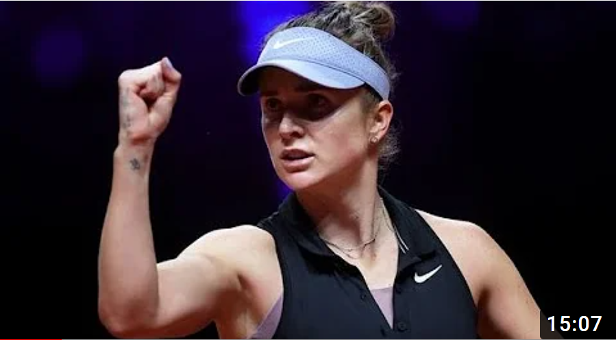WTA Штутграт. Свитолина - Квитова. Лучшие моменты матча. 23.04.2021