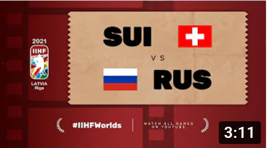 Хоккей. ЧМ в Латвии 2021. Швейцария - Россия. Highlights