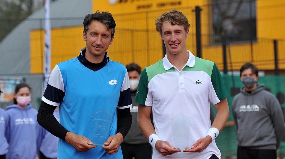 Стаховский и Полманс забирают второй трофей подряд чешского турнира АТР