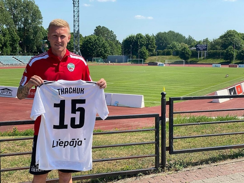 Украинский футболист Юрий Ткачук официально перешел из «Вентспилса» в «Лиепаю»