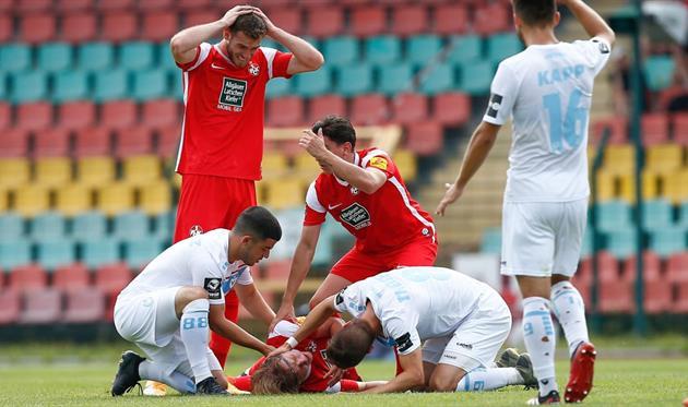Младший брат Марио Гетце находится в реанимации из-за травмы, полученной в матче «Виктория 89» - «Кайзерслаутерн»