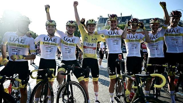 Победитель «Tour de France» - Тадей Погачар из Словении
