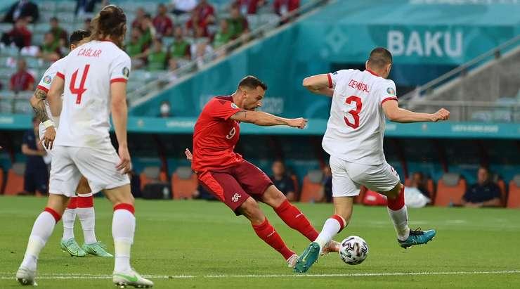 Сборная Турции уступила сборной Швейцарии и покидает Евро-2020
