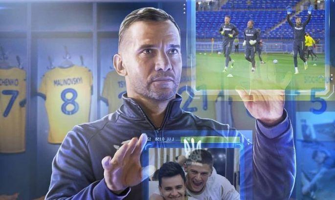 ТК «Футбол 1» снял фильм о подготовке национальной сборной Украины к Евро-2020