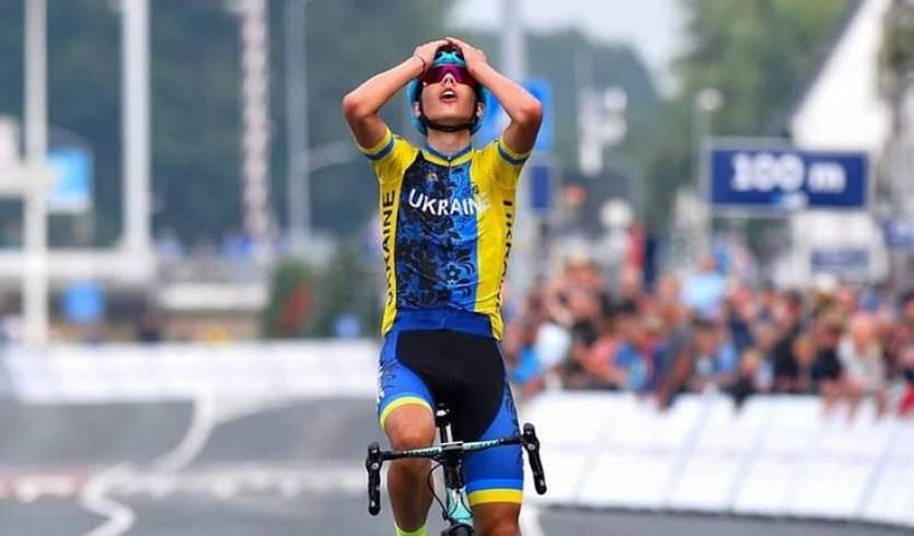 Украинец Андрей Пономарь – самый юный участник велогонки в Италии