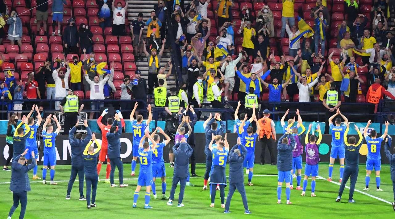Реакция общественности на победный результат сборной Украины в матче со сборной Швеции на Евро-2020