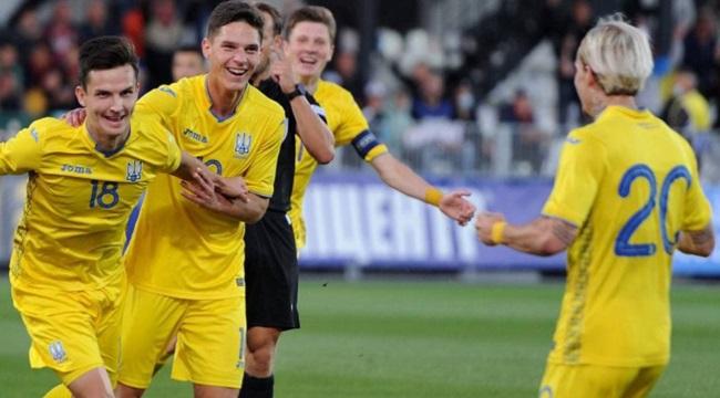 Украина после победы над Арменией возглавляет группу Н в рамках отбора на молодежный Евро-2023